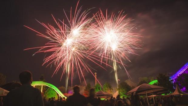 Feuerwerk im Zoo Safaripark Stukenbrock