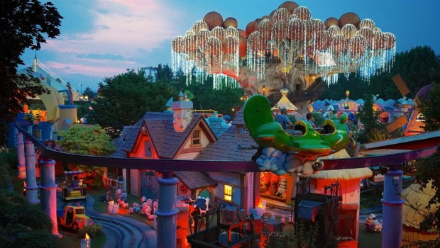 Gardaland Fantasy Kingdom Night is Magic
