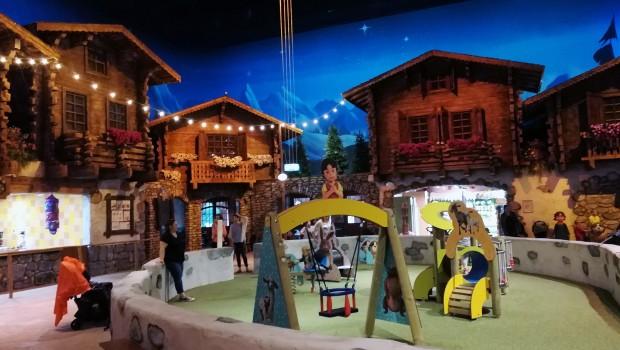 """Für die kleinsten Besucher wartet ein Spielplatz in """"Holiday Indoor"""". (Foto: Alexander Louis, Parkerlebnis.de)"""