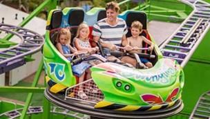 Jacquou Parc 2018 neue Achterbahn Crazy Coaster