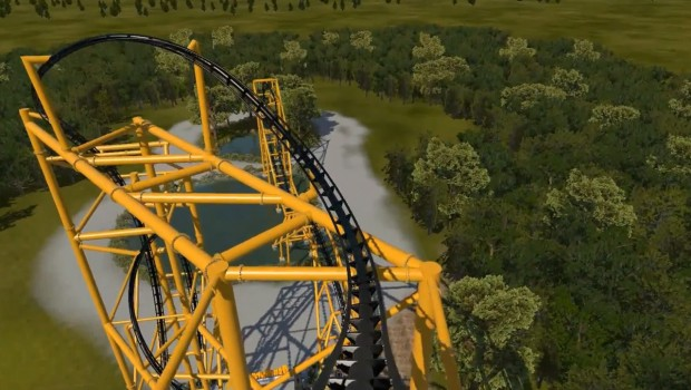 Kennywood Steel Curtain Inversion Rendering