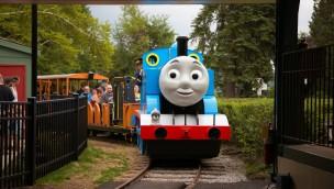 Kennywood: Parkbereich zu Thomas, die kleine Lokomotive jetzt eröffnet