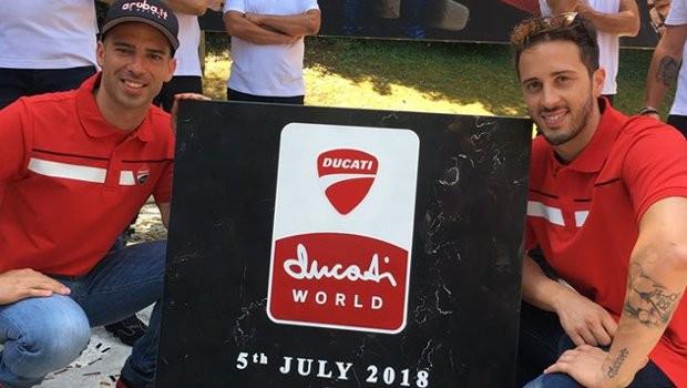 Mirabilandia Ducati World Grunsteinlegung