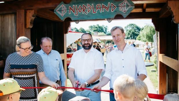 Njordland Tier- und Freizeitpark THüle - Eröffnung
