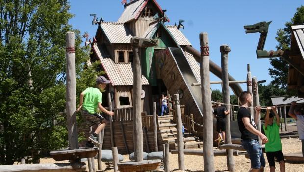 Njordland im  Tier-und Freizeitpark THüle: Wikinger
