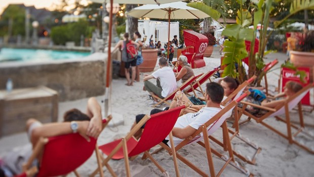 Rulantica Beach Club Liegestühle