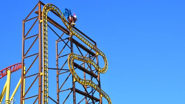 Schwaben-Park Wilde Hilde Schienenschluss
