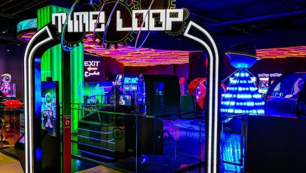 Time Loop Tekzone Kuwait Thematisierung