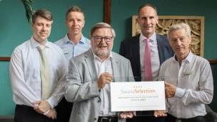 Tropical Islands: Sauna erhält vier Sterne vom Deutschen Sauna-Bund