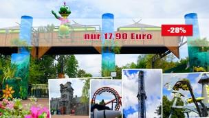 Walygator Parc-Tickets mit Rabatt: Nur 17,90 € (statt 25 €) dank Gutschein-Angebot!