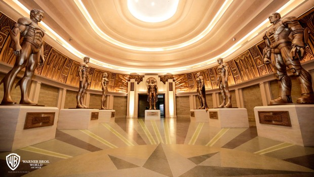 Warner Bros World Abu Dhabi - Hall of Justice