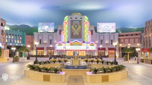 Warner Bros World Abu Dhabi - Plaza