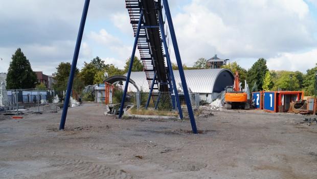 Abenteuer Park Oberhausen Abriss Wildwasserbahn