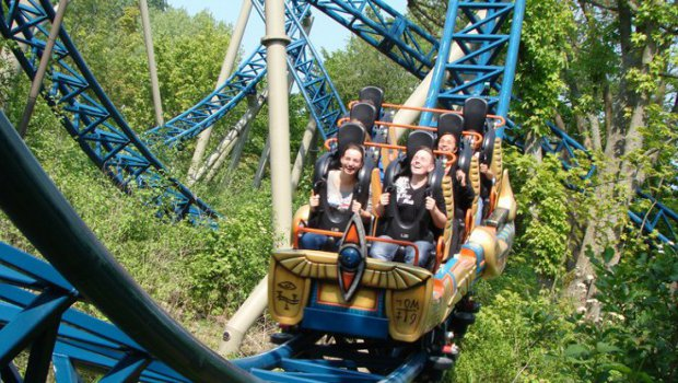 Anubis: The Ride im Plopsaland De Panne