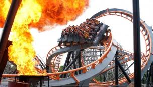 """Six Flags America schließt Steh-Achterbahn """"Apocalypse"""" Ende 2018 nach nur sechs Jahren"""