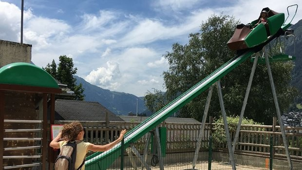 Chamonix Amusement Park Butterfly