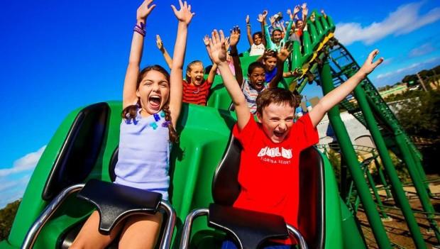 Dragon Coaster Legoland Florida