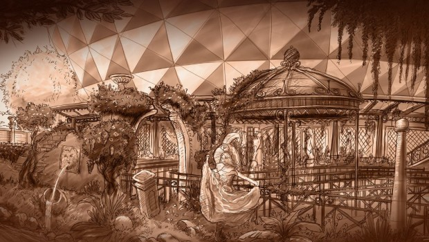 Europa-Park Eurosat CanCan Coaster Artworks