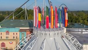 Europa-park Dome Mario Botte Architekt erneuert