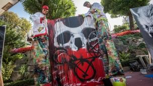 """""""Street Art Days 2018"""" im Europa-Park: Freizeitpark wird zum Freiluftatelier"""