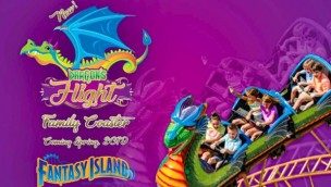 Dragon's Flight Fantasy Island neu 2019
