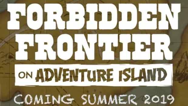 Forbidden Frontier on Adventure Island in Cedar Point 2019
