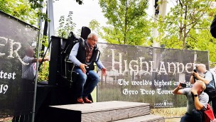 "Hansa-Park 2019 neu mit Mega-Free-Fall-Tower: ""Highlander"" mit 120 Metern Höhe angekündigt"