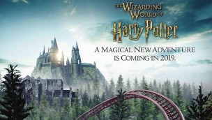 Harry Potter-Achterbahn Universal Orlando 2019 Teaser Artwork