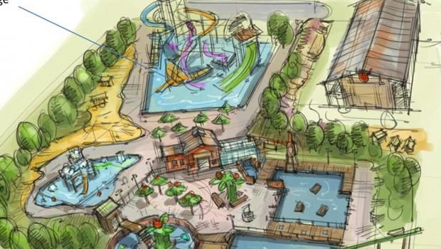 Karls Elstal Wasserpark Artwork