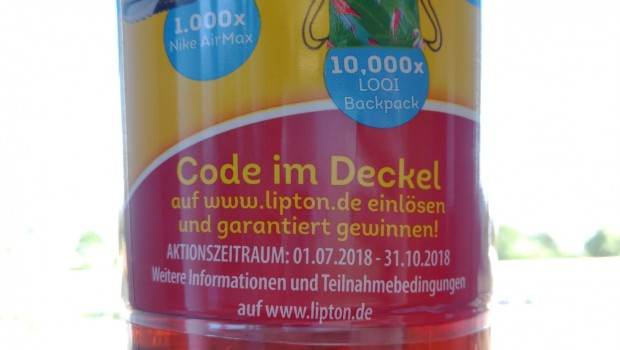 Lipton Ice Tea Code einlösen 2019