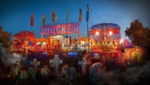 Liseberg Halloween 2018 Geisterbahn Shocker