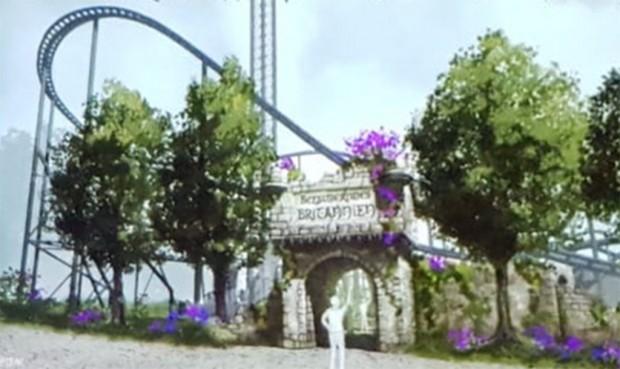 """So wird sich """"Nessie"""" 2019 neu im Hansa-Park präsentieren. (Foto: Hansa-Park)"""