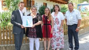 OHIRIS-Zertifikat für den Bayern-Park 2018
