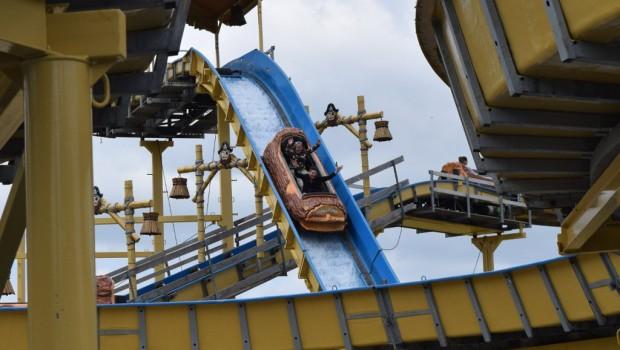 Pirateninsel Eifelpark Wildwasserbahn