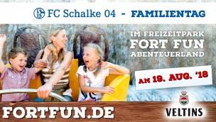 Schalke-Tag 2018 im FORT FUN Abenteuerland ermöglicht Rabatt für Schalke-Fans