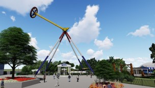 Six Flags Great Adventure 2019 Rendering