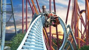 Six Flags Great America 2019 Maxx Force Rendering