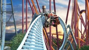 0-125 km/h in 2 Sekunden: Irre Katapult-Achterbahn 2019 neu für Six Flags Great America angekündigt