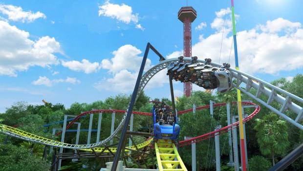 Six Flags magic Mountain 2019