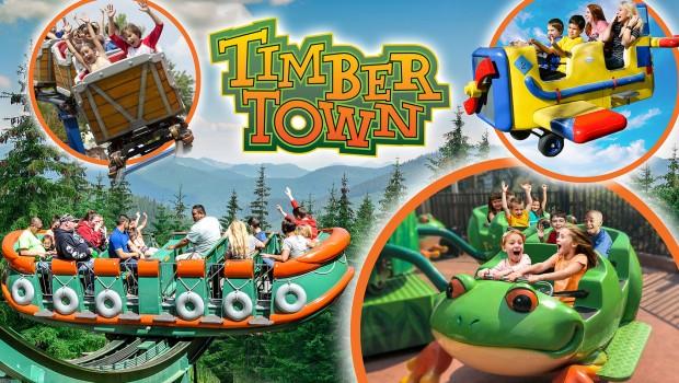 Timber Town Frontier City 2019 Ankündigung