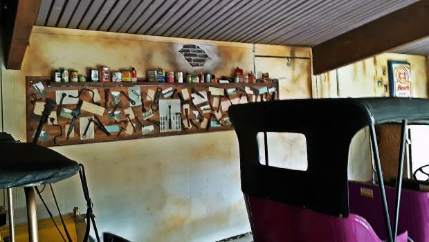 Tommys Werkstatt Schwaben-Park Oldtimer Bahnhof