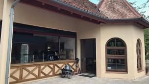 """Erlebnispark Tripsdrill eröffnet Café neben neuer Flug-Attraktion """"Höhenflug"""""""