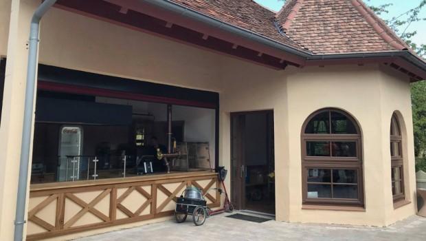 Erlebnispark Tripsdrill neues Café Höhenflug