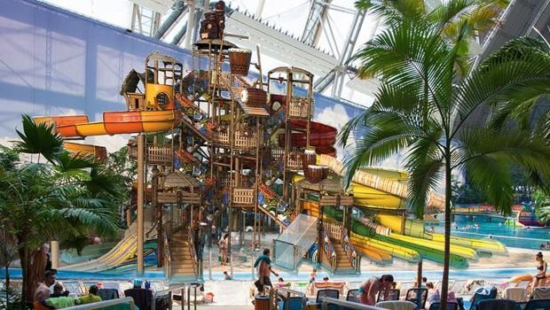Tropical Islands Wasserspielplatz 2018 neu Artwork