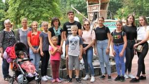 Tschernobylkinder im Freizeitpark Thüle