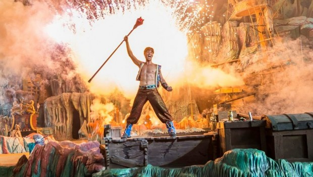 Universal's Islands of Adventure Orlando The Eighth Voyage of Sindbad Show
