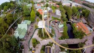 """So fährt """"Valkyria"""": Liseberg zeigt neuen Dive-Coaster in spektakulärem OnRide-Video"""