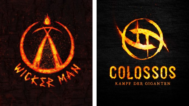 Wicker Man Colossos Logo Vergleich