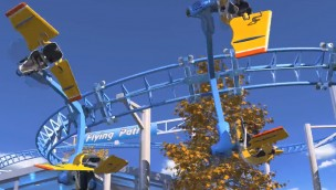 "Technical Park stellt interaktive Achterbahn ""Aerobat Coaster – Flying Patrol"" vor"