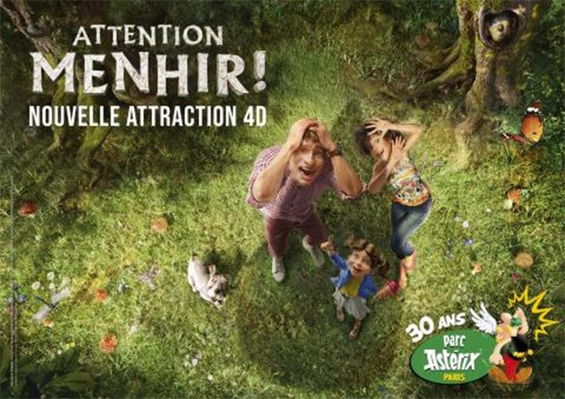 Attention Menhir Parc Asterix 2019 4D-Kino Teaser